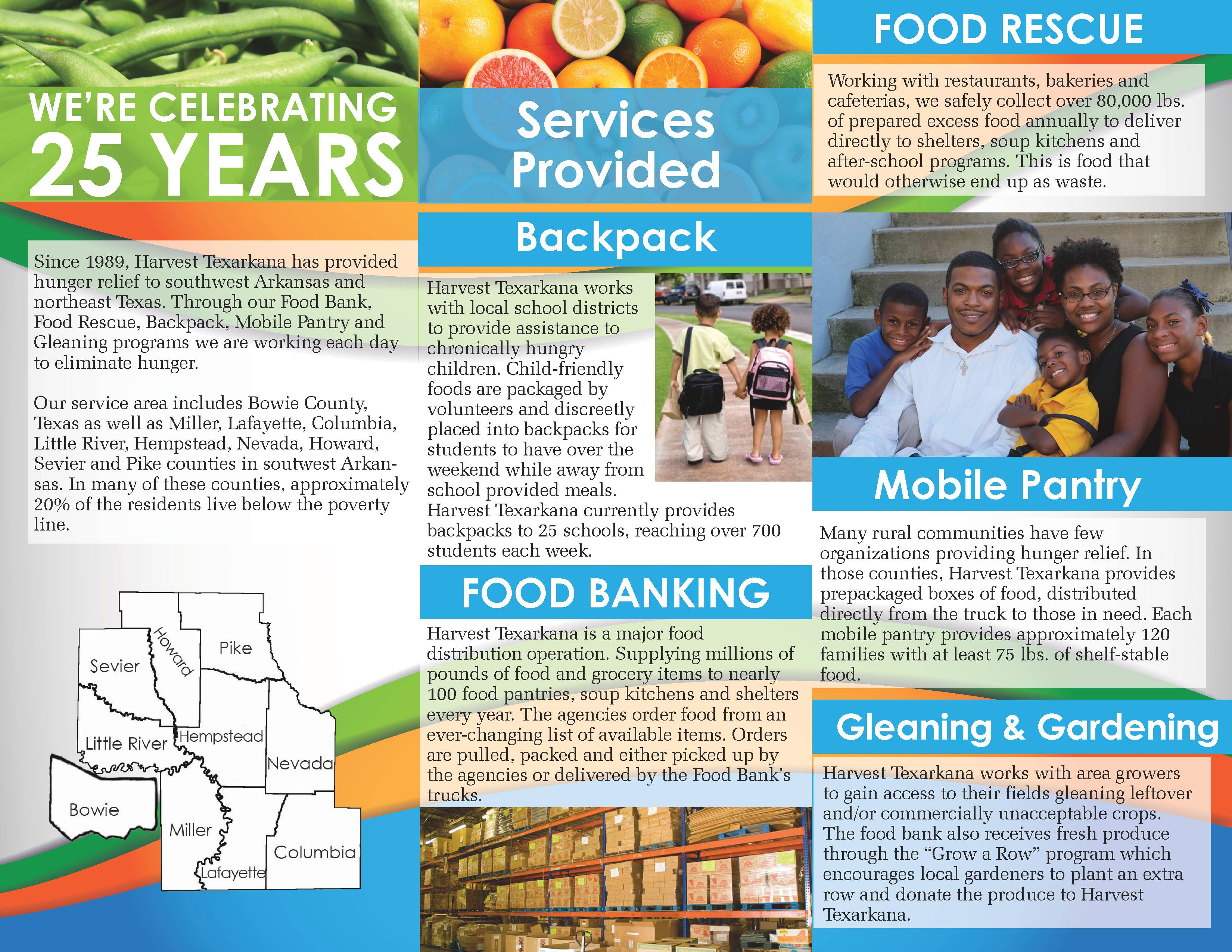 About | Harvest Regional Food Bank