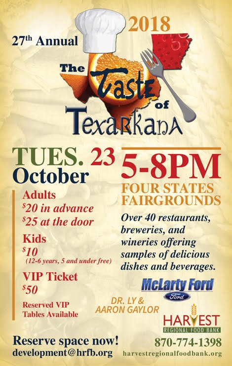 Taste of Texarkana 2018